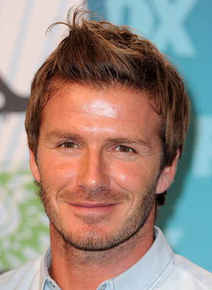 More Pics of David Beckham Spiked Hair (2 of 29) - David Beckham Lookbook - StyleBistro