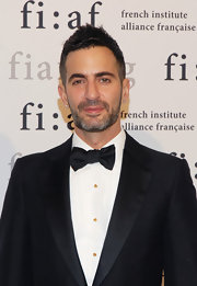 Marc Jacobs looks handsome in a classic thick bow tie.