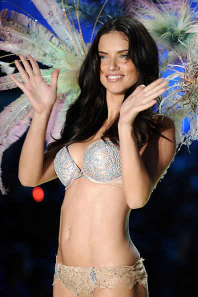 Adriana+Lima in 2010 Victoria's Secret Fashion Show - Runway