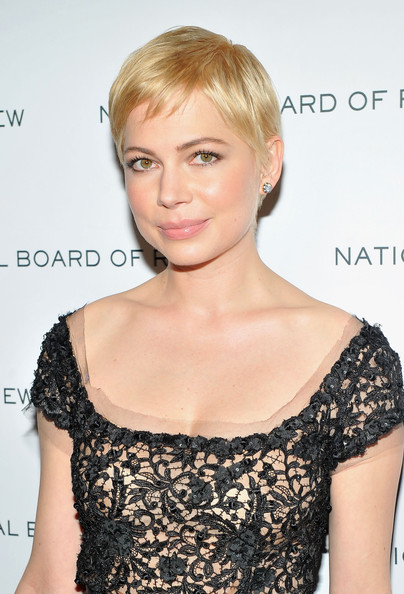 michelle williams short hair cannes. Michelle Williams wears a