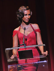 Iman wore her shiny locks in classic fingers waves at the 2011 Alvin Ailly American Dance Theater's Opening Night Gala performance.