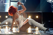 Singer Rihanna performs onstage during the 2011 Billboard Music Awards at the MGM Grand Garden Arena May 22, 2011 in Las Vegas, Nevada.