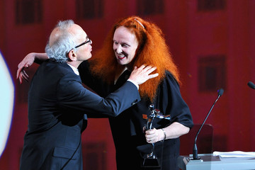 Grace Coddington Arthur Elgort 2011 CFDA Fashion Awards - Show