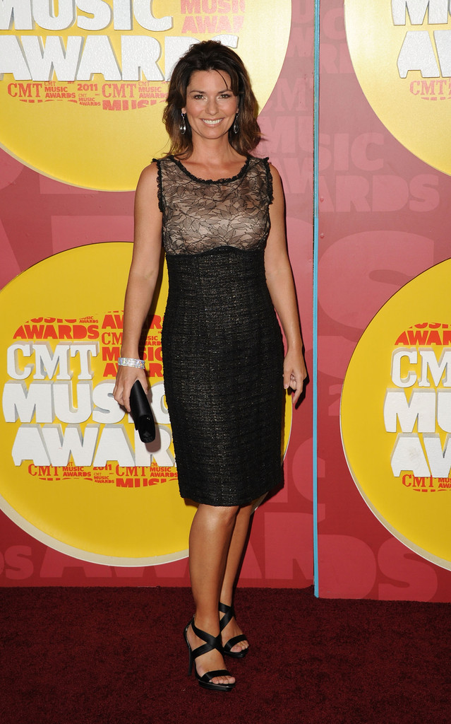 Shania Twain Best And Worst Dressed At The Cmt Music