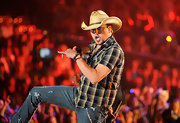 Jason Aldean rocked out on stage at the 2011 CMT Awards wearing three Spiritual Bead bracelets and a Weave bracelet.