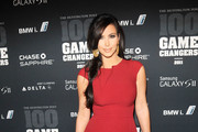 Kim Kardashian attends the 2011 Game Changers Awards at Skylight SOHO on October 18, 2011 in New York City.