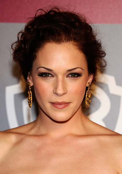 More Pics of Amanda Righetti Gemstone Hoops (1 of 4) - Gemstone Hoops Lookbook - StyleBistro