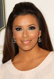 Eva Longoria wore a shimmery golden apricot lipstick at the 2011 Los Angeles Latino International Film Festival.
