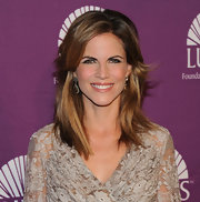 Natalie Morales wore her sexy layered cut casually styled at the 2011 Lupus Foundation of America butterfly gala.