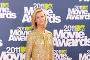 Model Brooklyn Decker arrives at the 2011 MTV Movie Awards at Universal Studios' Gibson Amphitheatre on June 5, 2011 in Universal City, California.