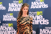 Actress Rosie Huntington-Whiteley arrives at the 2011 MTV Movie Awards at Universal Studios' Gibson Amphitheatre on June 5, 2011 in Universal City, California.