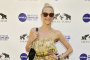 Jaime King Is a Floral Flirt in a Joie Dress