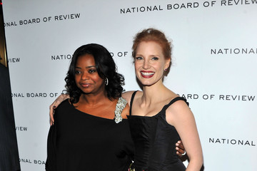 Octavia Spencer Jessica Chastain 2011 National Board Of Review Awards Gala - Inside Arrivals