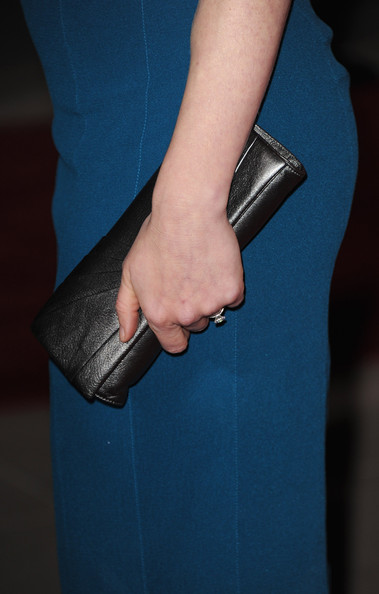 More Pics of Amy Adams Metallic Clutch (1 of 9) - Amy Adams Lookbook - StyleBistro