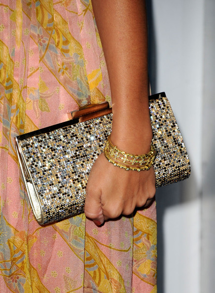 More Pics of Ashley Tisdale Gemstone Inlaid Clutch (1 of 9) - Ashley Tisdale Lookbook - StyleBistro