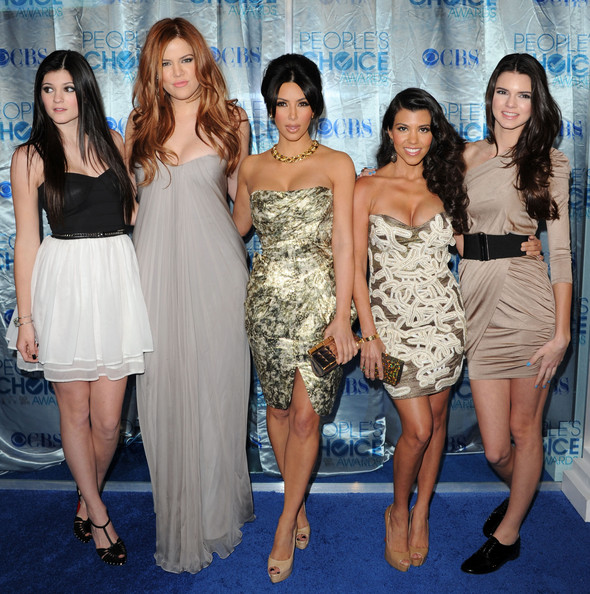More Pics of Kendall Jenner One Shoulder Dress (1 of 10) - Dresses & Skirts Lookbook - StyleBistro [arrivals,peoples choice awards,l-r,nokia theatre l.a. live,tv personalities,kourtney kardashian,kim kardashian,khloe kardashian,kendall jenner,kylie jenner]