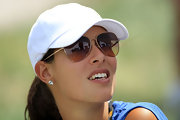 Ana Ivanovic's diamond studs were a luxe complement to her athletic get-up at the 2011 Presidents Cup.