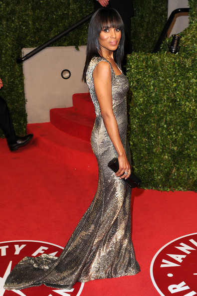 Kerry+Washington in 2011 Vanity Fair Oscar Party Hosted By Graydon Carter - Arrivals