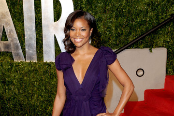 Gabrielle Union Dons Diane Von Furstenberg for Vanity Fair Oscars Party