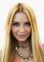 Havana Brown wore a thick chain necklace at the ARIA Awards nominations event.