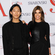 Carine Roitfeld and Alexander Wang