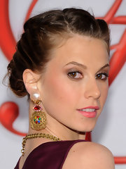 Elettra Wiedemann fixed her hair in a romantic French braid for the 2012 CFDA Fashion Awards.