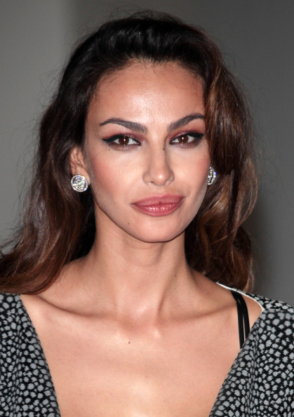 More Pics of Madalina Ghenea Long Wavy Cut (1 of 14) - Long Wavy Cut Lookbook - StyleBistro