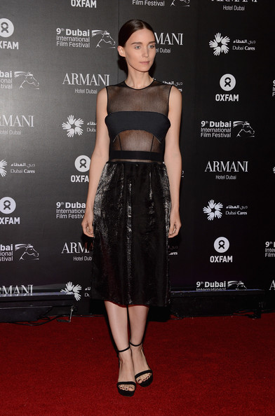More Pics of Rooney Mara Evening Sandals (1 of 6) - Rooney Mara Lookbook - StyleBistro