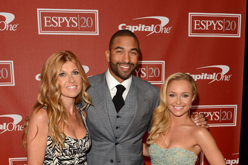 Connie Britton Matt Kemp The 2012 ESPY Awards - Backstage & Audience