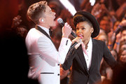 Nate Ruess and Janelle Monae Photo