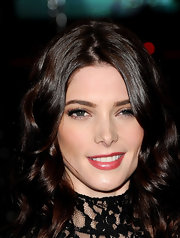 Ashley Greene wore a pretty pearlescent golden raspberry shade of lipstick at the 2012 People's Choice Awards.