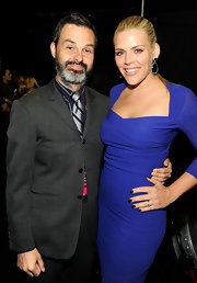 Busy Philipps wore a rich aubergine shade of nail polish at the 2012 People's Choice Awards.