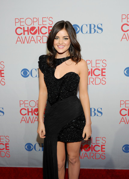 More Pics of Lucy Hale Platform Pumps (1 of 10) - Lucy Hale Lookbook - StyleBistro