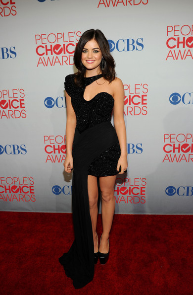 More Pics of Lucy Hale Satin Clutch (3 of 10) - Lucy Hale Lookbook - StyleBistro