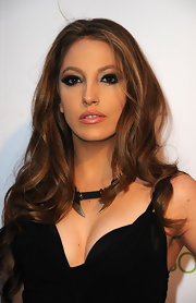 Jenna Haze turned up the sex appeal with lusciously long curls at the Revolver Golden Gods Award Show.