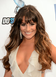The ombre trend's had a serious moment for a few seasons now, but Lea Michele truly reinvigorated the fade with these dramatic mermaid waves and wispy bangs.