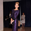 Purple Jenny Packham at the White House Correspondents' Association Dinner