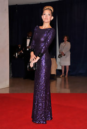 Kate Hudson looked like a '60s glam queen in this glittering gown at the White House Correspondents' Dinner.