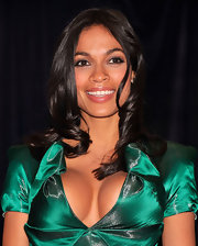 Rosario Dawson completed her look for the 2012 White House Correspondents' Association Dinner with a simple pair of stud earrings.
