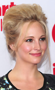 Candica Accola took a risk with this cotton candy-inspired updo at the 2012 iHeartRadio Music Festival.