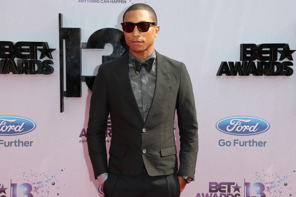 More Pics of Pharrell Williams Men's Suit (1 of 6) - Pharrell Williams Lookbook - StyleBistro