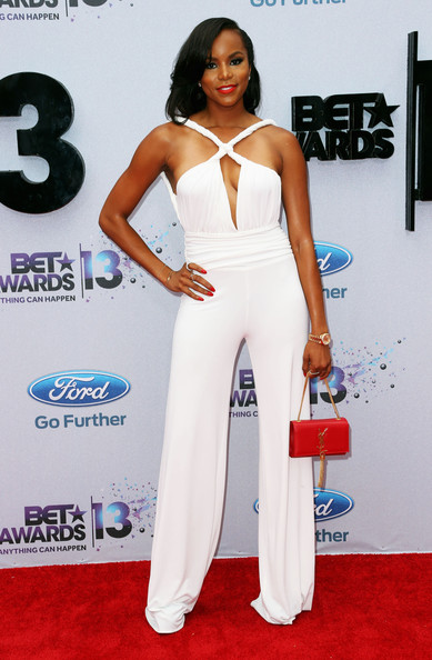 Letoya Luckett at the BET Awards