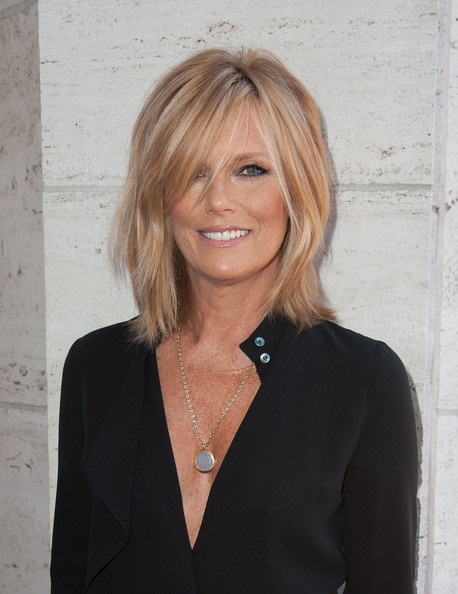 Patti Hansen looked stylishly punky with this shoulder-length layered cut at the Couture Council Fashion Visionary Awards.