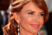 Actress Roma Downey poses at the 2013 Creative Arts Emmy Awards held at the Nokia Theatre L.A. Live on September 15, 2013 in Los Angeles, California.