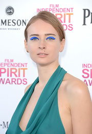 Olga Sorokina isn't one to shy away from color, as she proved at the Independent Spirit Awards.