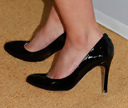 Katie Lowes opted for a pair of basic, patent leather pumps for her look at the Human Rights Campaign Gala.