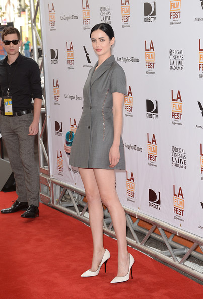 More Pics of Krysten Ritter Mini Dress (1 of 17) - Krysten Ritter Lookbook - StyleBistro