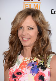 Allison Janney wore her hair in tousled waves at the Los Angeles Film Festival premiere of 'The Way, Way Back.'