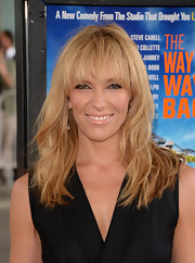 Toni Collette rocked a shaggy 'do with wispy bangs at the Los Angeles Film Festival premiere of 'The Way, Way Back.'