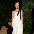 Natalie Portman Wore Dior at the Vanity Fair Oscars Party 2013